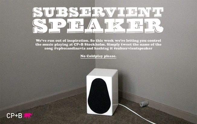 Crowdsourced Music Speakers