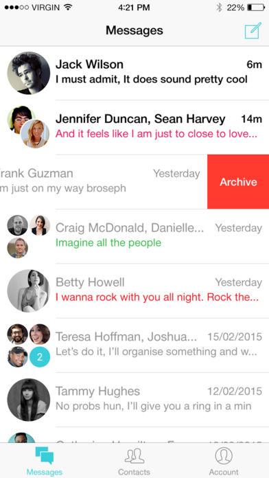 Musical Messaging Apps