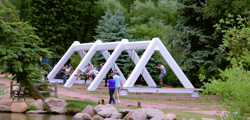 Musical Swing Installations