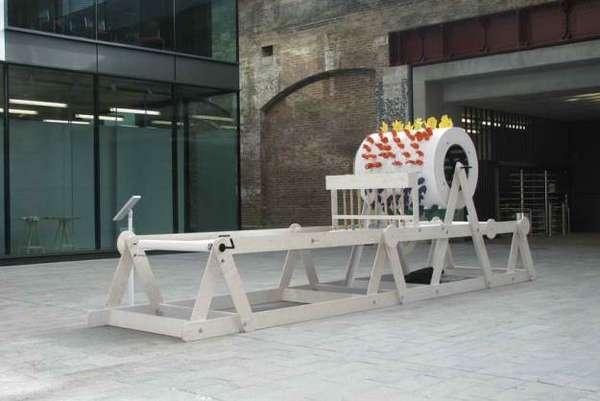 Giant Music Box Installations