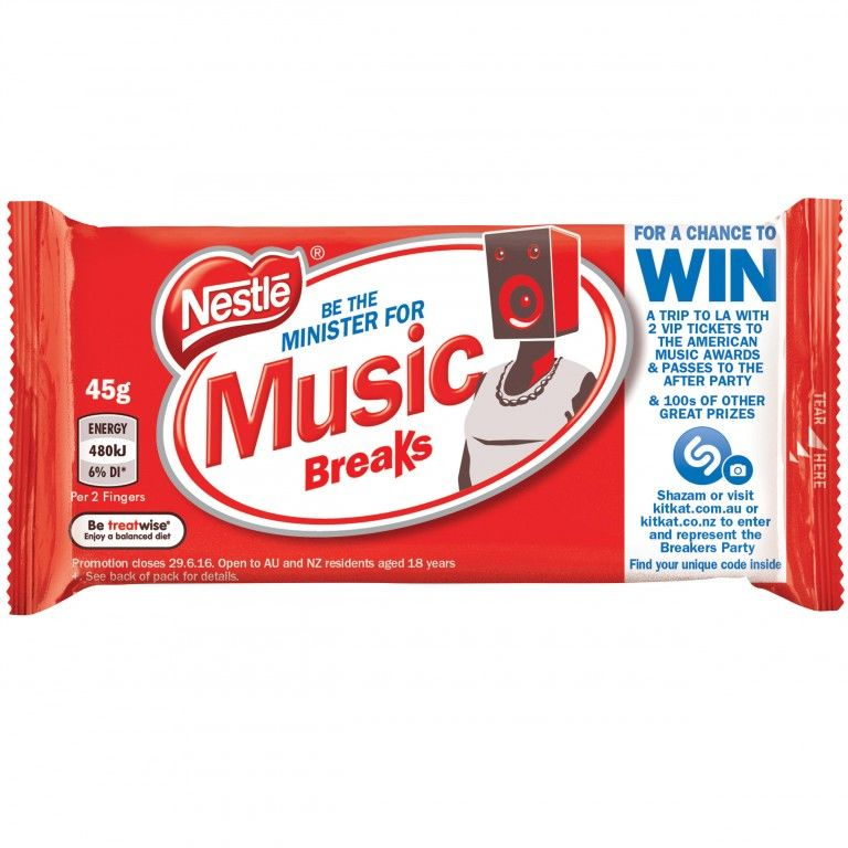 Music-Enabled Chocolate Wrappers