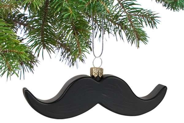 Hairy Holiday Ornaments