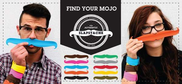 Retro Facial Hair Accessories