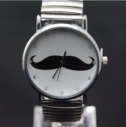 Dapper Mustache Watches