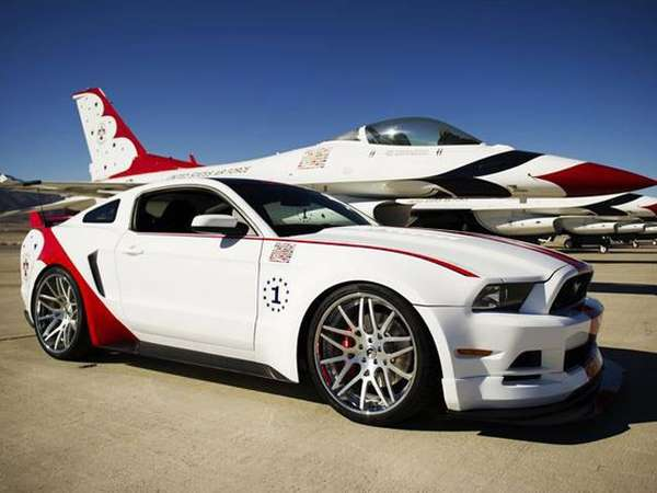 Aviator-Inspired Muscle Cars