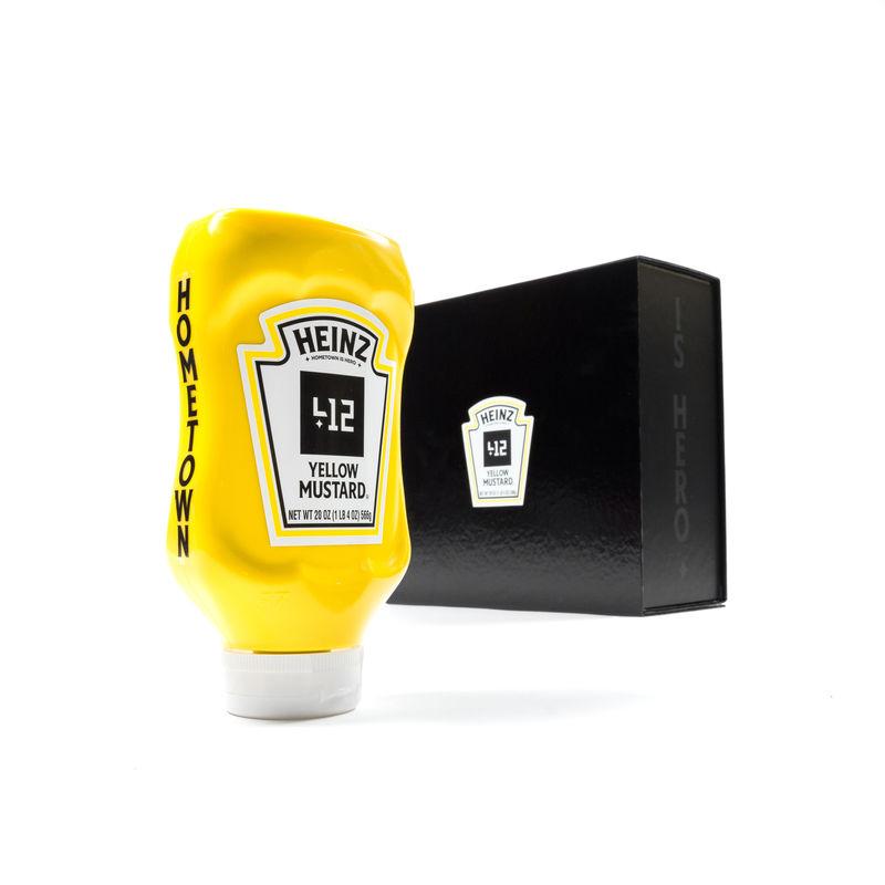 Philanthropic Mustard Bottles