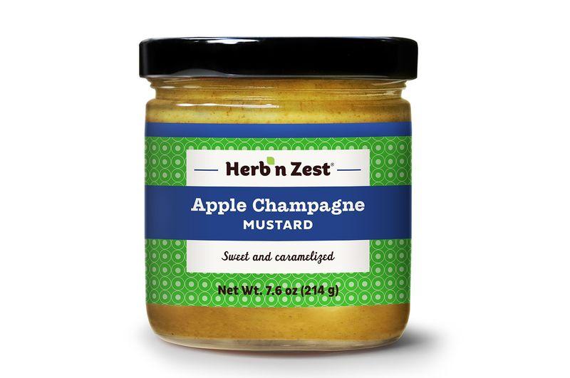 Apple-Infused Mustards