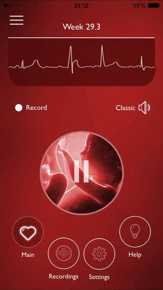 Heartbeat-Tracking Pregnancy Apps