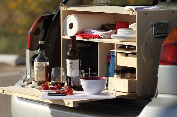Outdoor Cooking Organizers