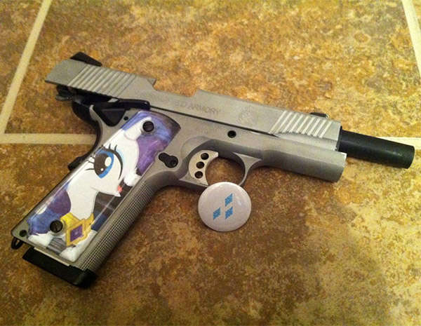 My Little Pony gun