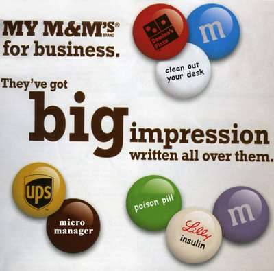 My M&Ms For Business