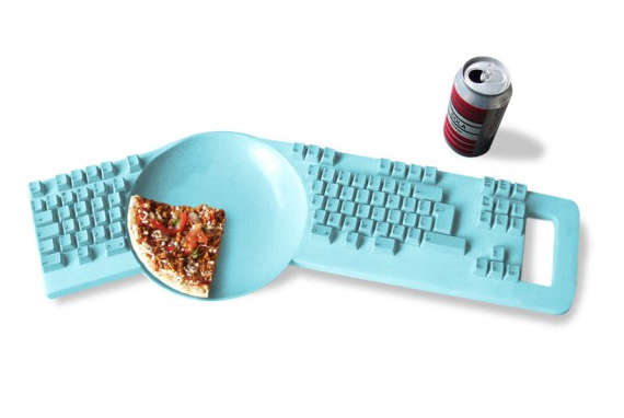 Distractive Dining Keyboards