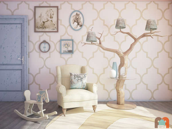 Whimsical Tree Lamps