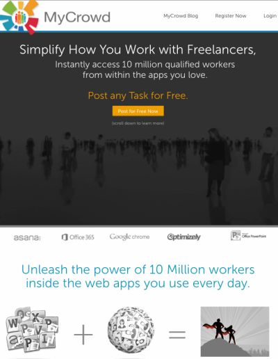 Crowdsourced Freelancer Apps