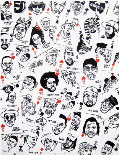 Iconic Rapper Playing Cards