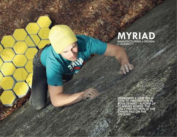 Honeycomb Bouldering Mats