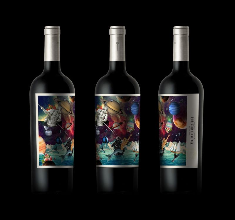 Mythical Wine Branding