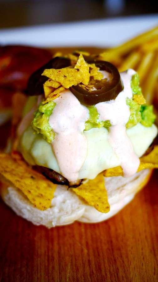 Crunchy Chip Burgers