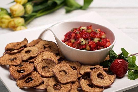 Fruit Chip Nacho Platters