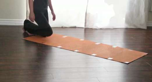 Magnetized Exercise Mats