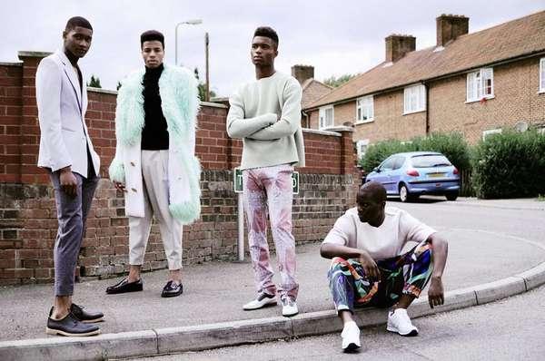 Eclectic Urbanite Menswear
