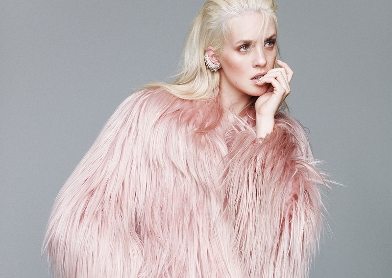 Couture Coral Editorials