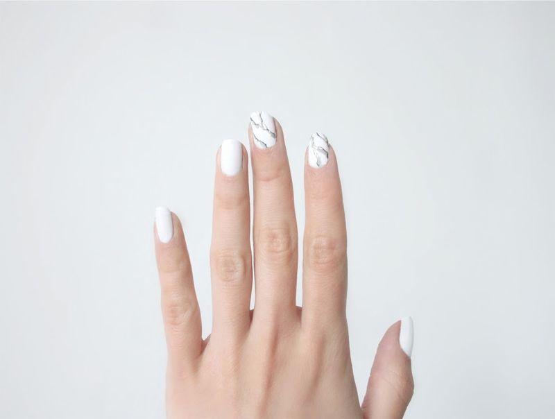 Marble Manicure Tutorials