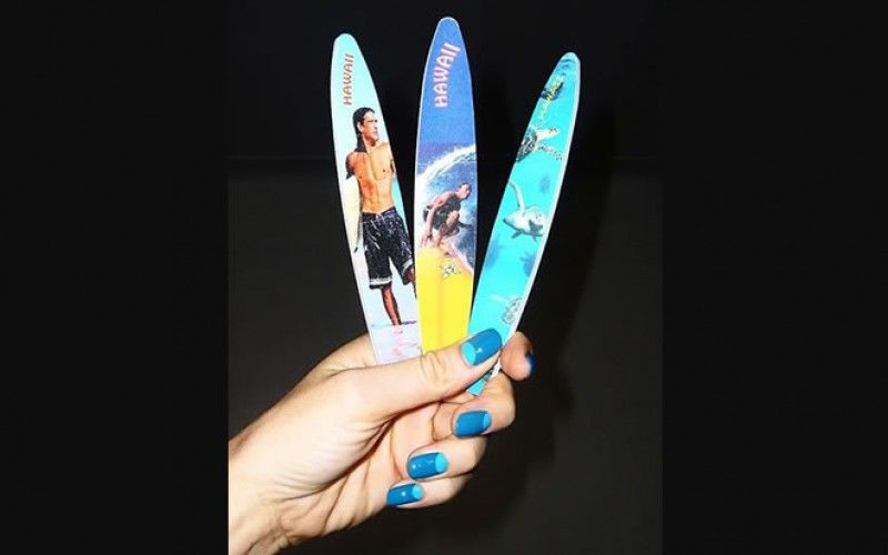Surfboard Nail Files