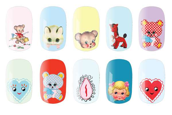 Adorable Designer Manicures
