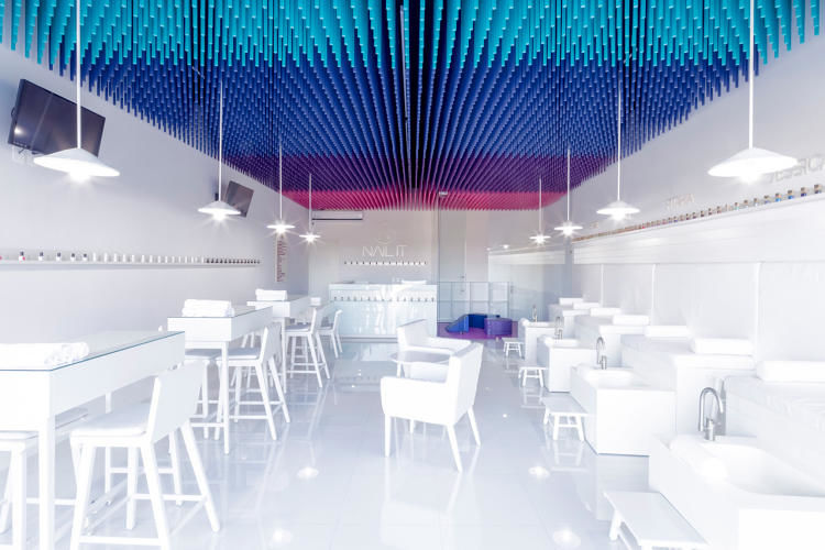 Technicolor Broomstick Salons