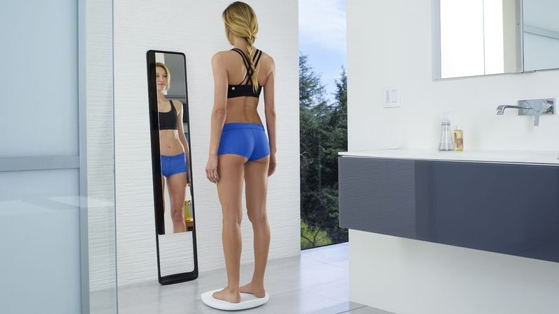 Fitness-Tracking Mirrors