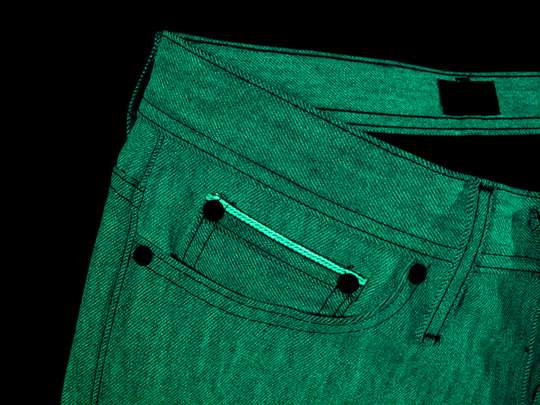Naked and Famous Glow in the Dark Jeans