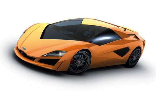 V-Neck Supercar Windows