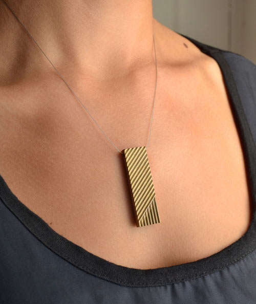 Geometrically-Lined Accessories