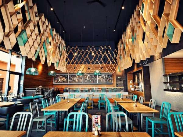 Tetris-Inspired Eateries