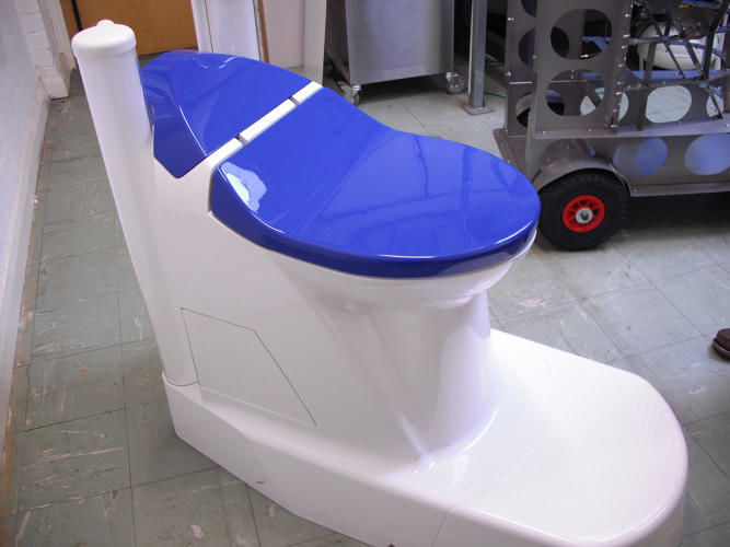 Waste-Converting Toilets