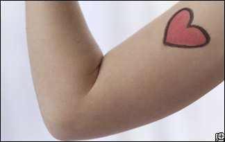Color-Changing Tattoos