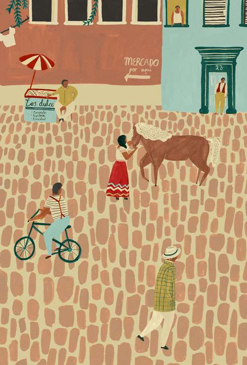 Rural Spanish Life Renderings