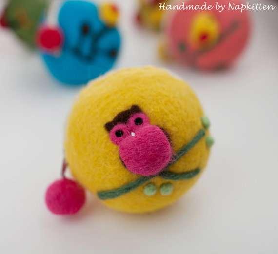 Wool Critter Purses