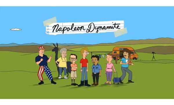 Napolean Dynamite Cartoon Trailer