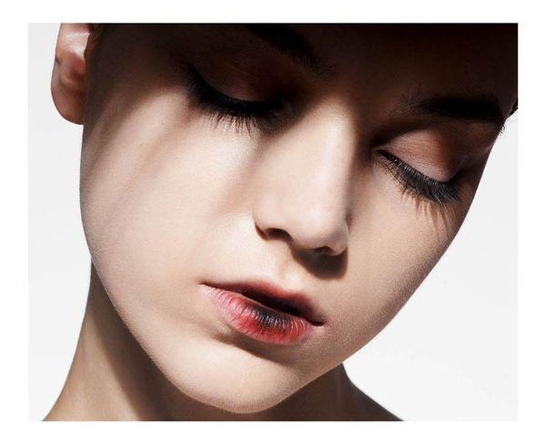 Subtly Experimental Makeup Editorials