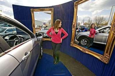 Fitting Room for Cars