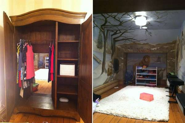 narnia themed playroom1