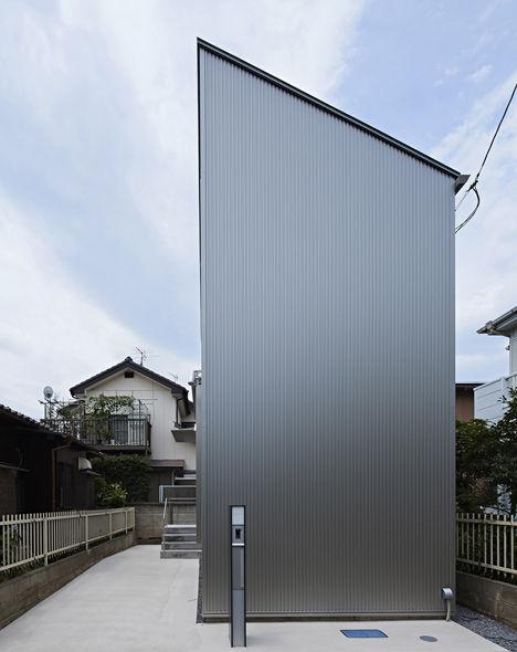 Narrow No Window Houses Kobayashi Tokyo