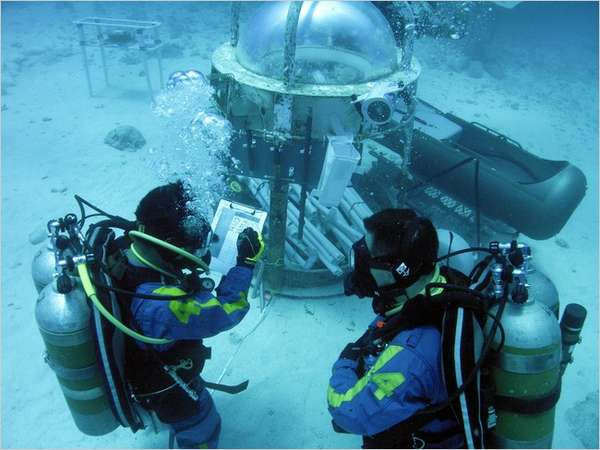 Underwater Space Camps