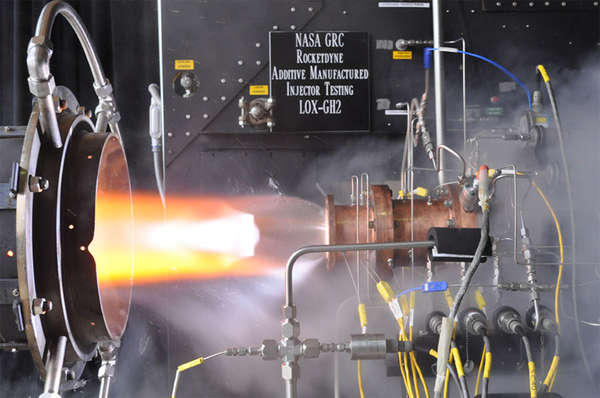 NASA's 3D Printed Rocket