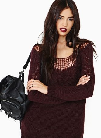 Oversized Weaved Sweaters
