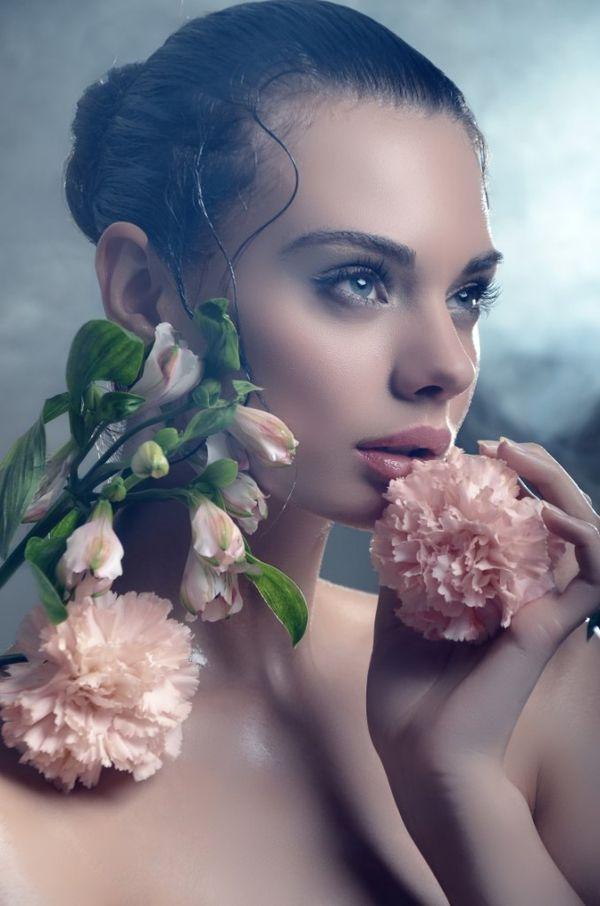 Botanical Beauty Portraits