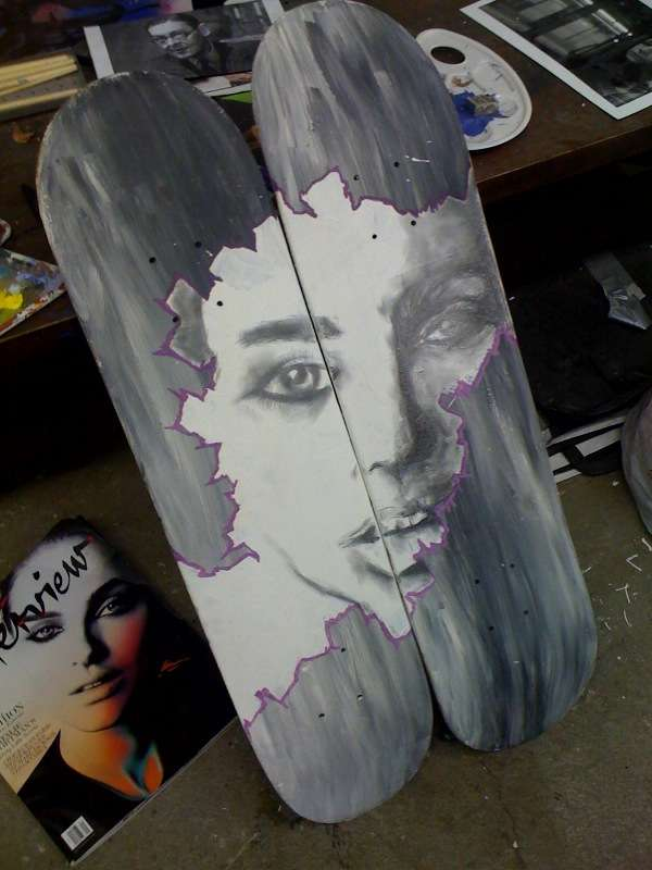 Celebrity-Inspired Skateboards