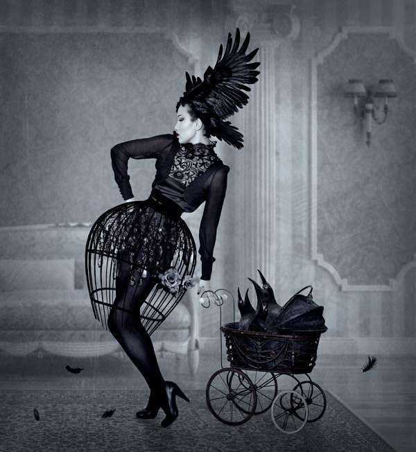 Gothic Raven Photography